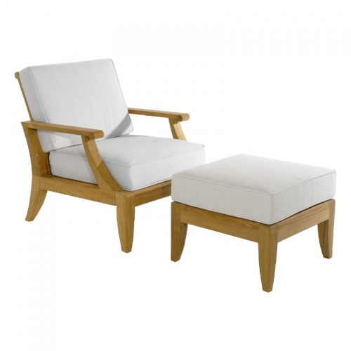 Deep Seating Teak Armchair - Picture B