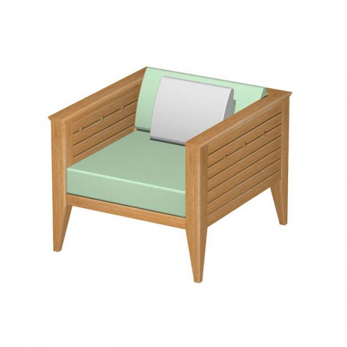 Craftsman Lounge Chair Frame - Picture K
