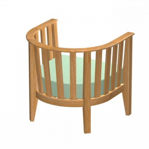 Kafelonia Chair Frame - Picture H