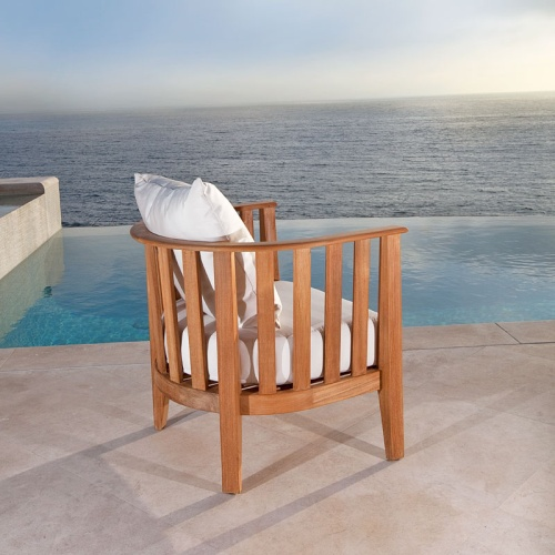Kafelonia Teak Club Chair - Picture B