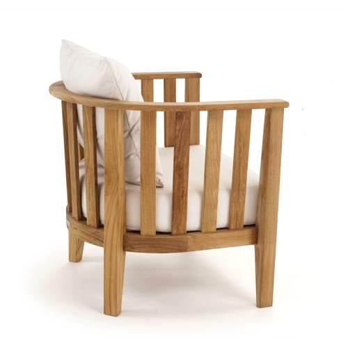 Kafelonia Teak Club Chair - Picture E