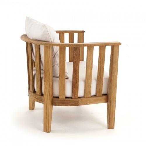 round teak lounge chairs