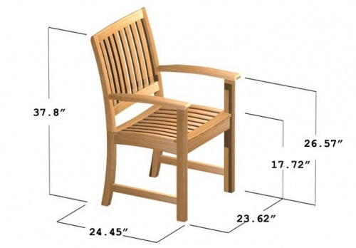 Sussex Teak Armchair 2007 - Picture D