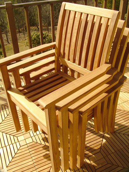 Sussex Stacking Armchair - Picture C
