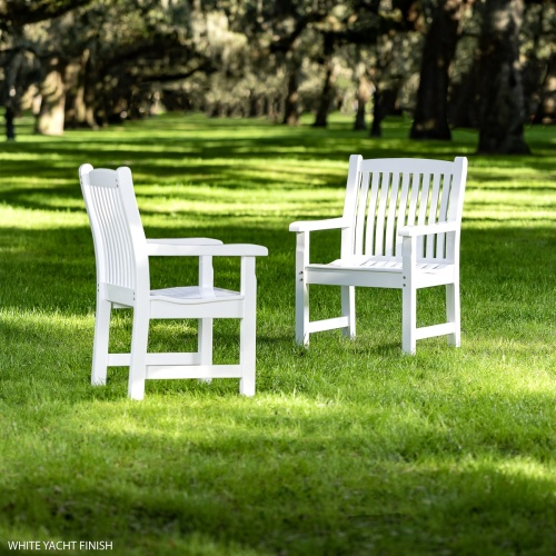 outdoor teak patio chairs