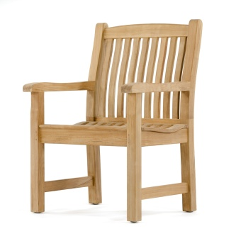 Teak Chair fixed teak chairs - westminster teak furniture