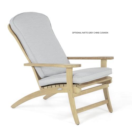 Teak Adirondack Chair - Picture J