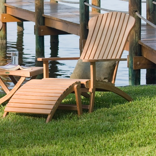 Teak Adirondack Chair Clearance Sale - Picture B