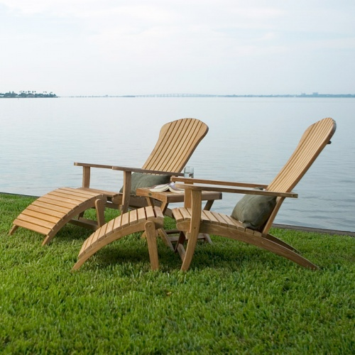 Teak Adirondack Chair Clearance Sale - Picture E