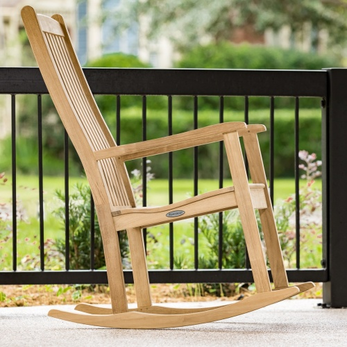 rocking chairs teak