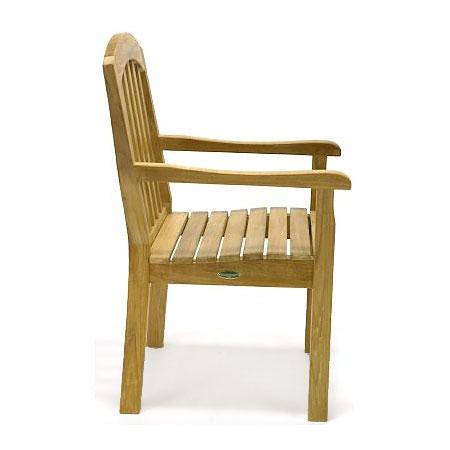 teak armchairs