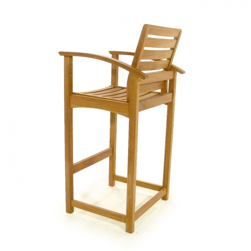 Somerset Teak Bar Stool - Picture F