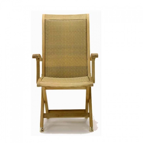 Teak Folding armchair - Picture B