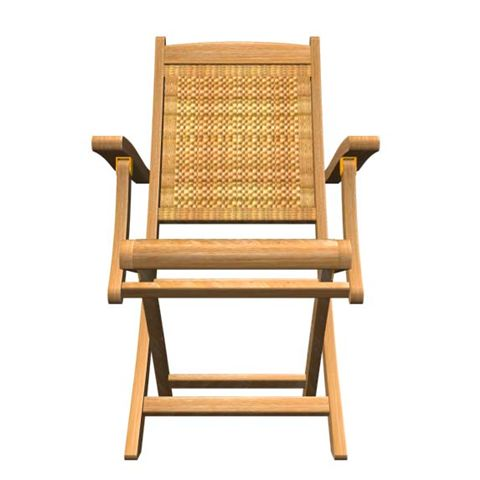 Teak Armchair - Picture D