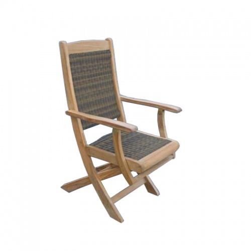 Bali Teak Folding Chair Clearance - Picture A