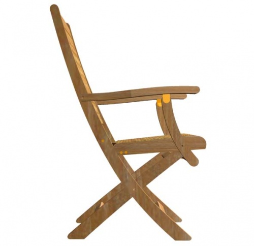 Bali Teak Folding Chair Clearance - Picture C