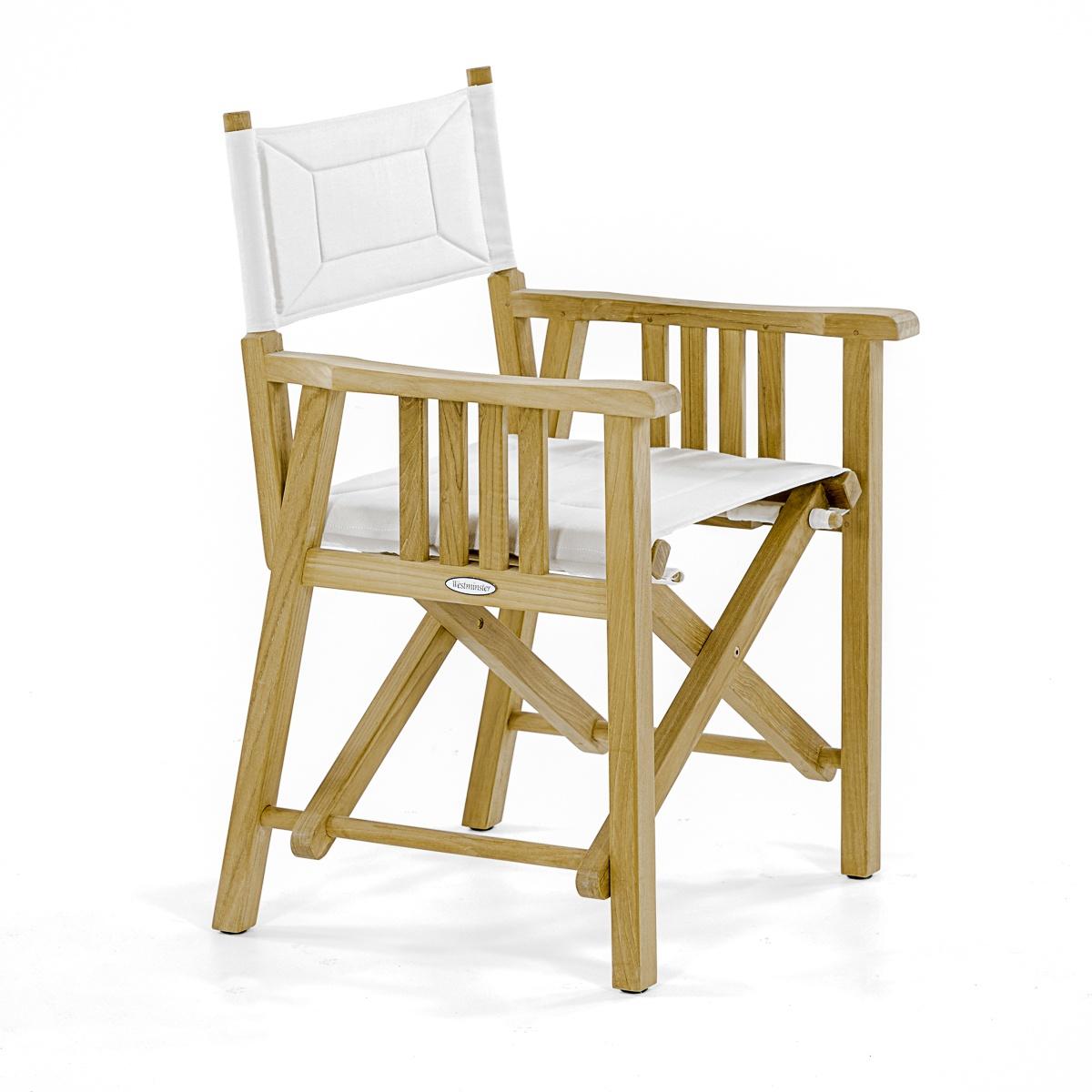 Barbuda Director Chair 24.25W X 23D X 35.5H 19.5u201d Seat Width 18u201d Seat Depth  18u201d Seat Height 25.75u201d Arm Height When Folded   21u201dL X 4.5u201dTHK X 36u201dH