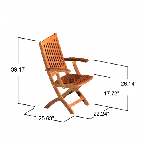 Sumatra Armchair - Picture B