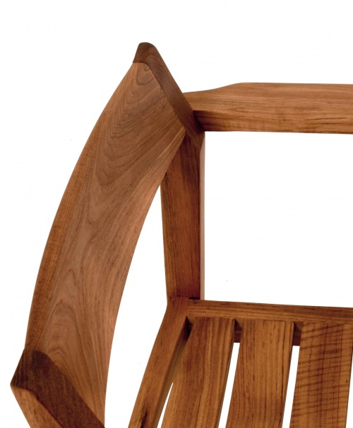 teak yacht chairs