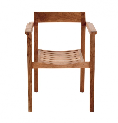 Horizon Danish All-Weather Teak Chair - Picture L