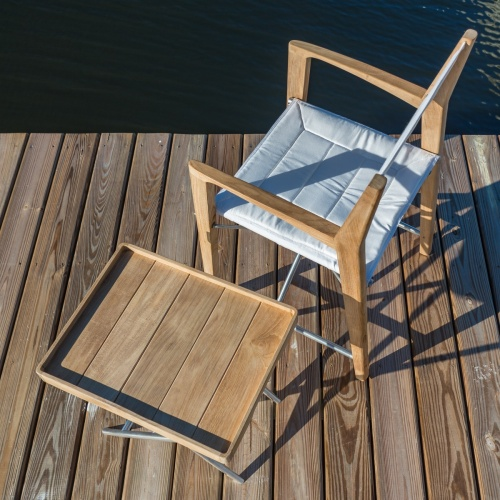 Teak Odyssey Director Chair - Picture F