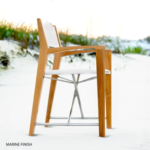 Teak Odyssey Director Chair - Picture G