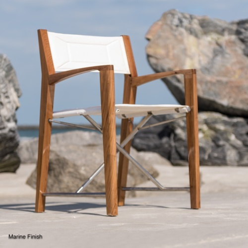 Teak Odyssey Director Chair - Picture H