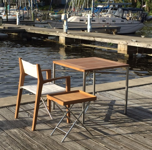 Teak Odyssey Director Chair - Picture J