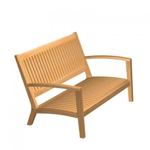 Teak Sofa - Picture A