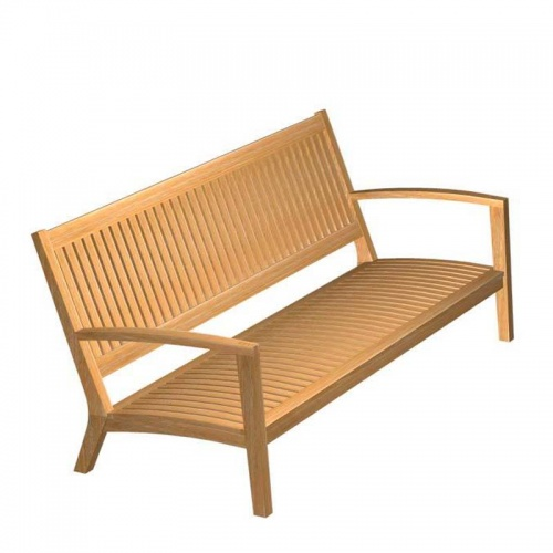 Teak Bench - Picture A