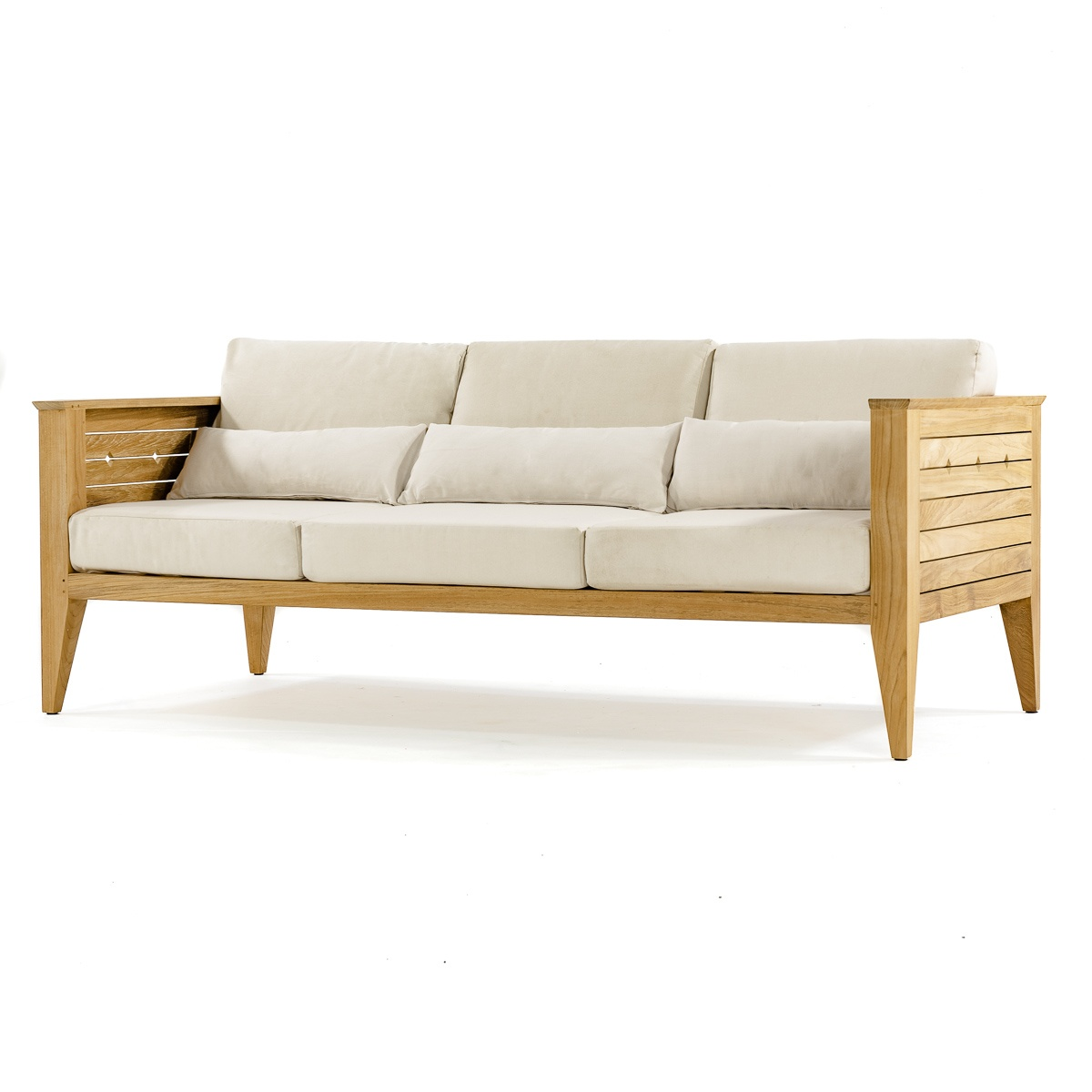 Craftsman Deep Seating Sofa Westminster Teak Outdoor Furniture