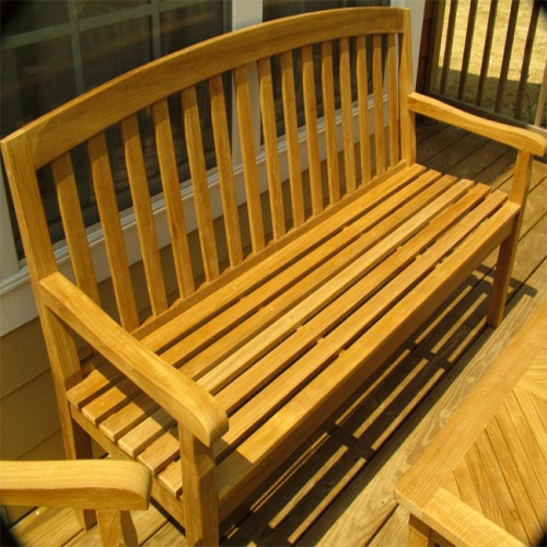top rated teak garden benches