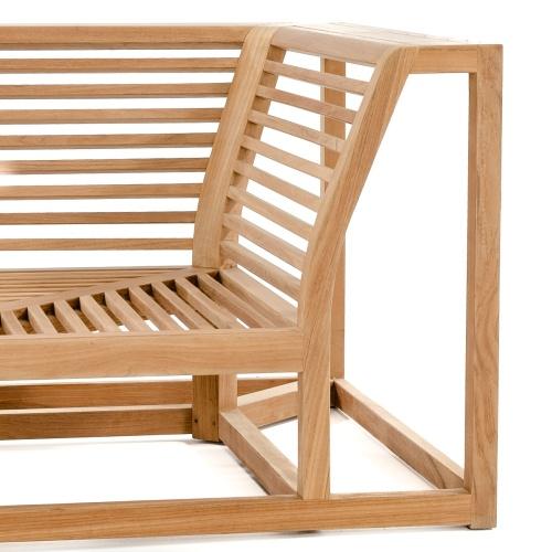 Maya Teak Outdoor Sectional Sofa - Picture H