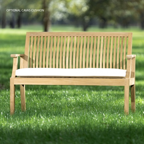 4 ft teak garden benches
