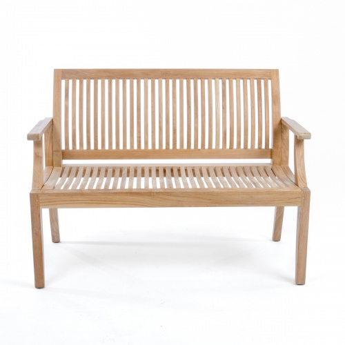 Laguna Teak Wood Bench 4 ft - Commercial Grade - Picture G