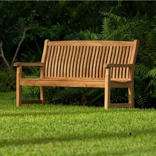 high quality teak benches