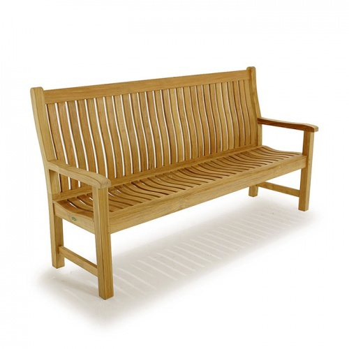 6 ft Wave Bench - Picture B