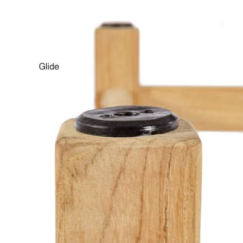 4 ft Laguna Teak Backless Bench - Picture N