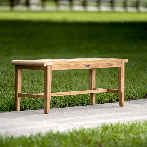 4 foot Backless Bench - Picture B
