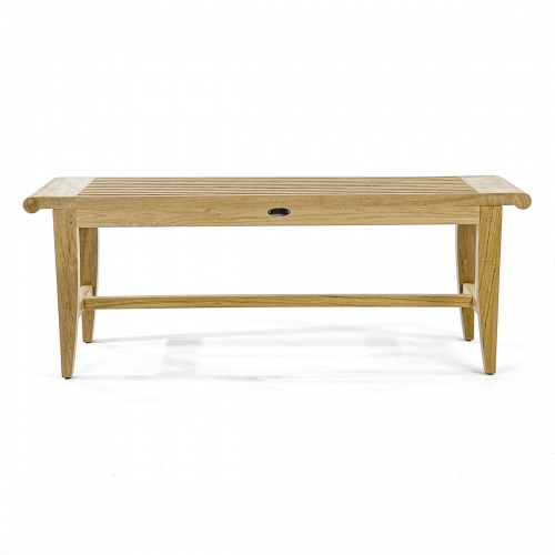 4 foot Backless Bench - Picture F