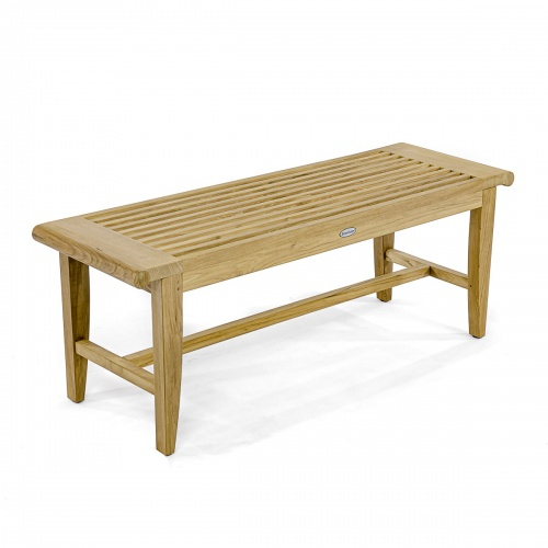 4 foot Backless Bench - Picture G