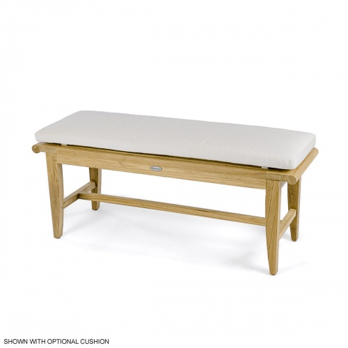 4 foot Backless Bench - Picture J