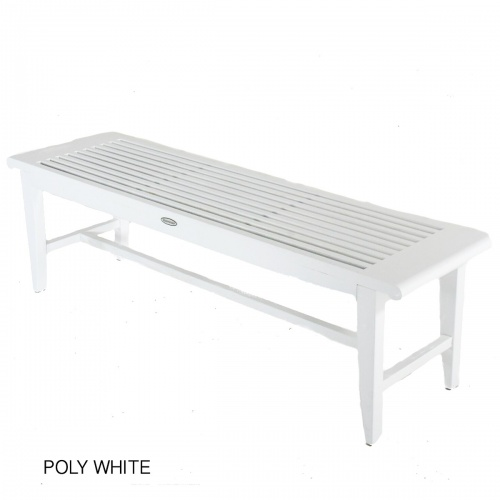 4 foot Backless Bench - Picture K