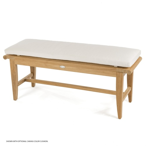 5 ft Laguna Teak Backless Bench - Picture K