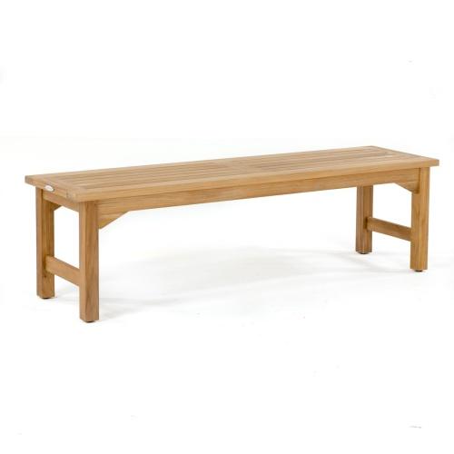teak picnic bench
