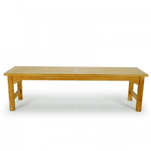 5 foot Backless Bench Refurbished - Picture E