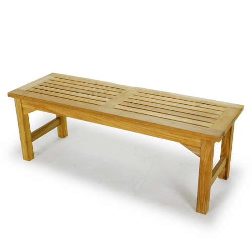 Waterproof Teak Backless Bench 4FT Refurbished - Picture C