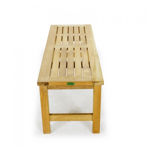 Waterproof Teak Backless Bench 4FT Refurbished - Picture F