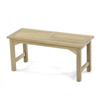 42 inch Veranda Backless Bench