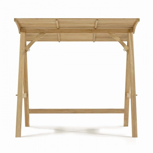 Teak Swinging Bench Stand - Picture A